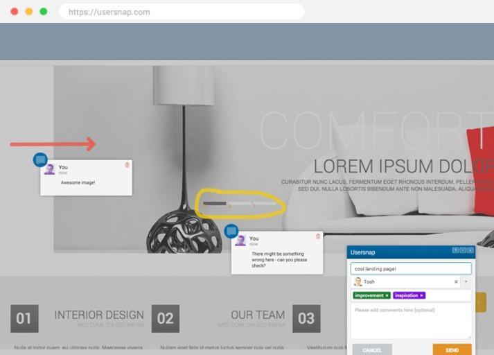Drupal website screenshot