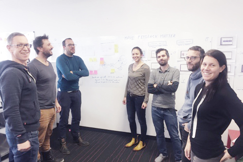 Learning & development at Usersnap