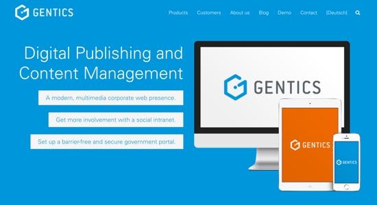 Gentics website