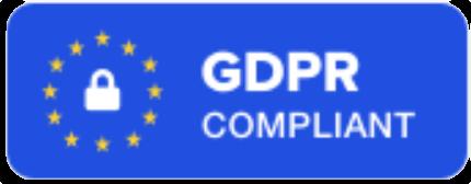 GDPR - 100% compliant
