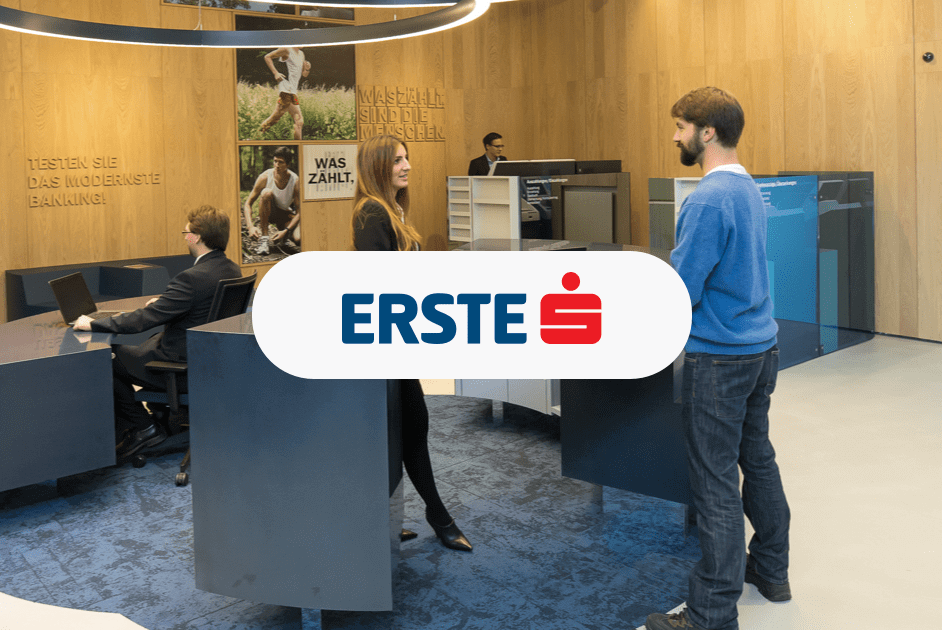 Erste Bank George Labs grows with customer feedback powered by Usersnap