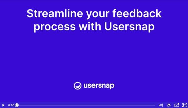 QA - visual feedback - demo