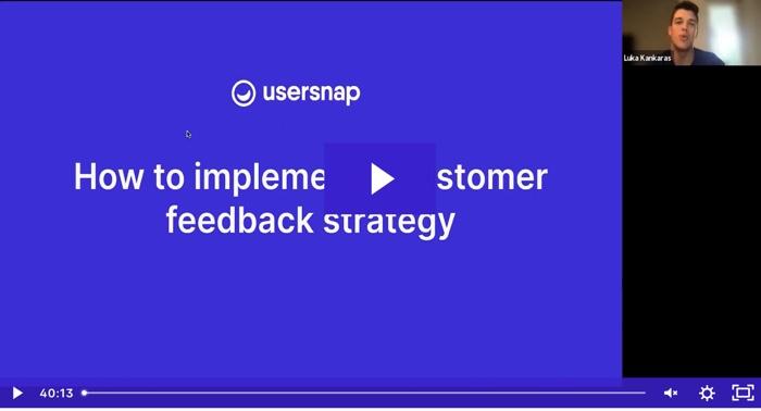 webinar 2 - Usersnap