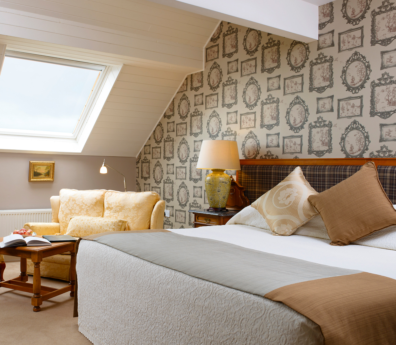 Sea-View Junior Suite at Greenmount House B&B luxury accommodation in Dingle