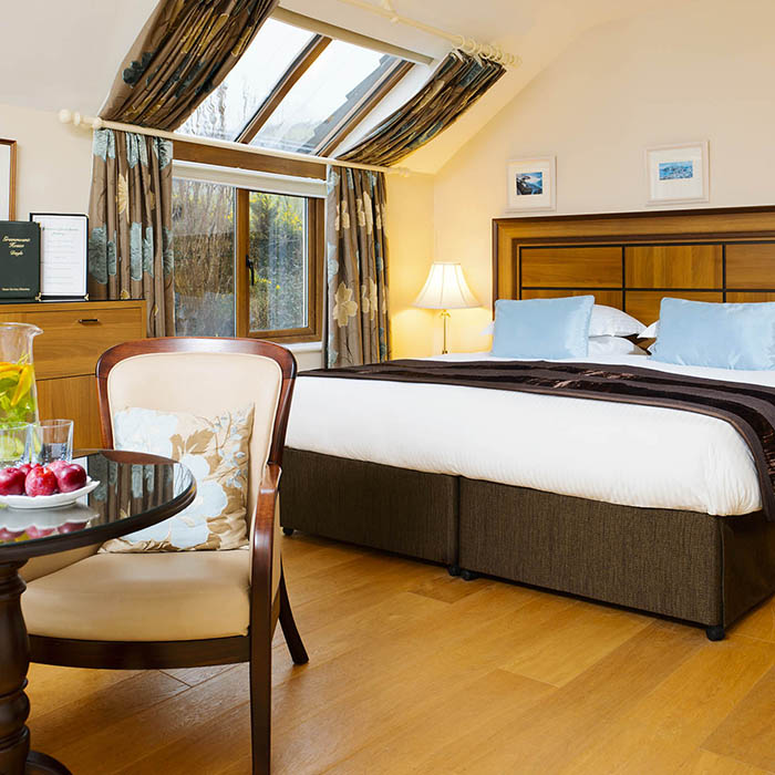 Garden View Superior Roomat Greenmount House B&B luxury accommodation