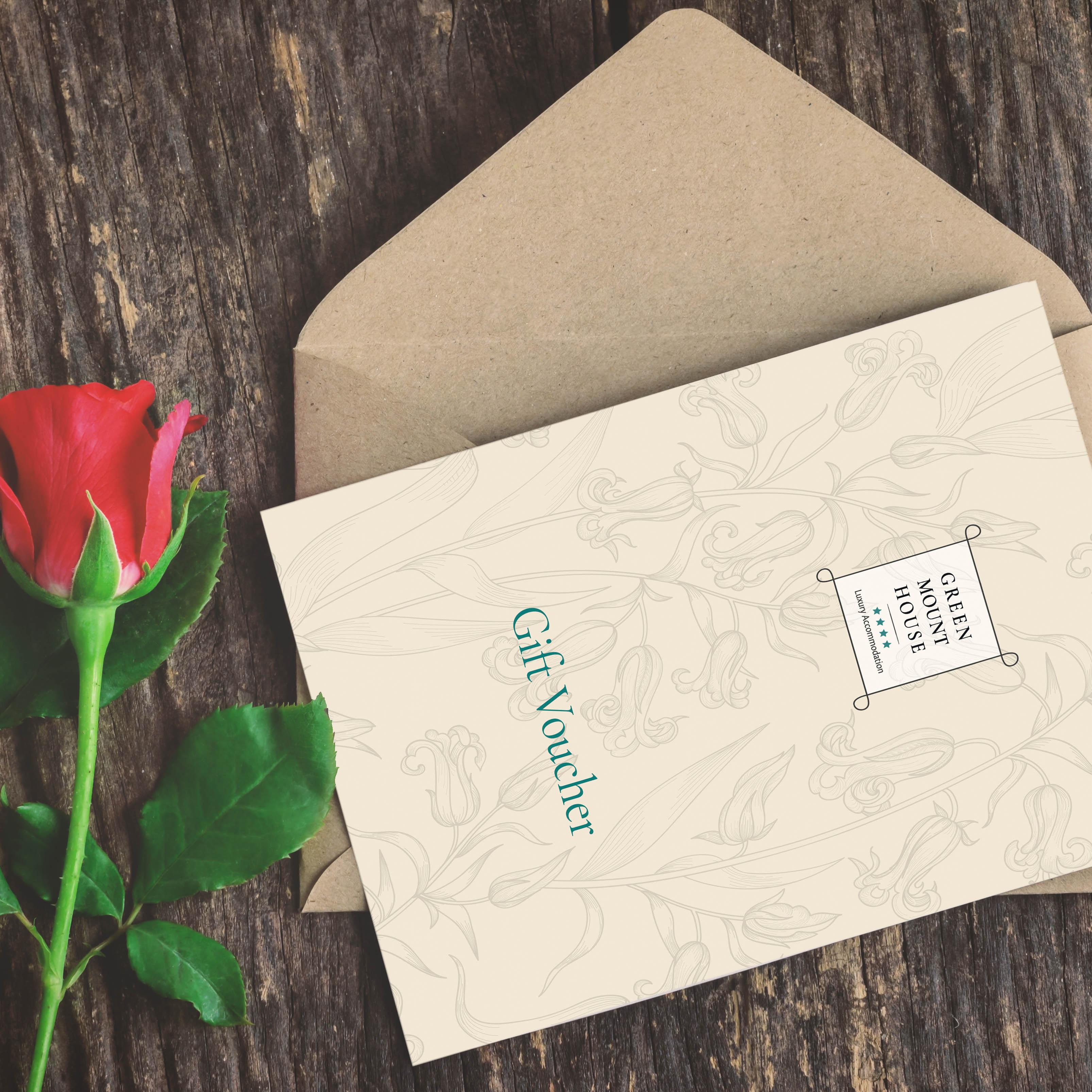 Greenmount House B&B luxury accommodation Gift Voucher