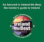 Greenmount House B&B is highly recommended by Ireland the Best, the insider's guide to ireland
