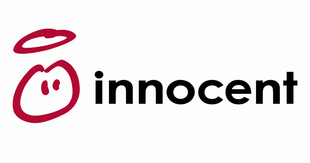 Innocent logo healthy foods startup