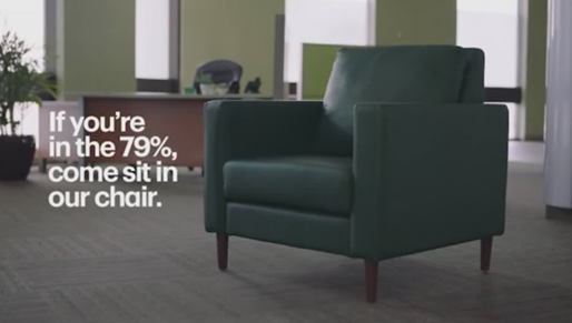funny td bank commercial come sit in our chair