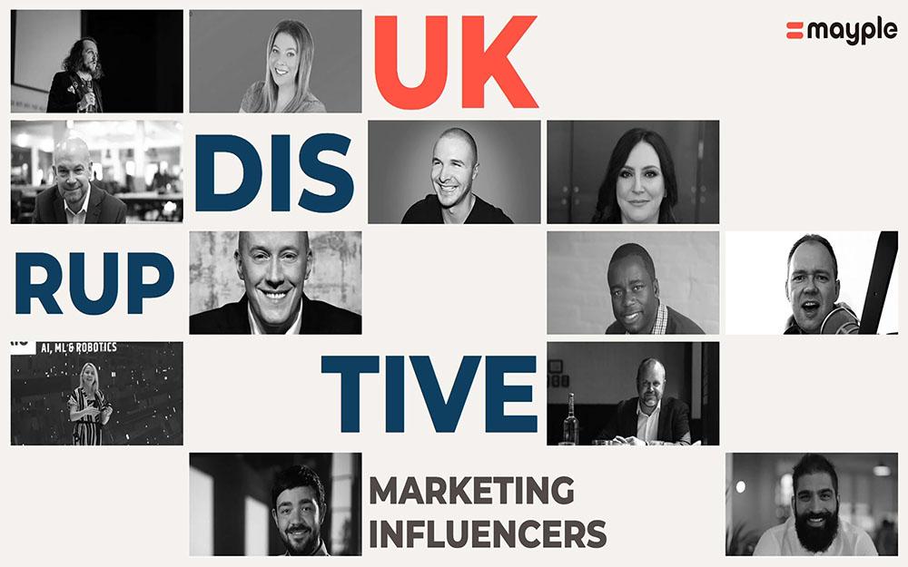 UK marketing influencers