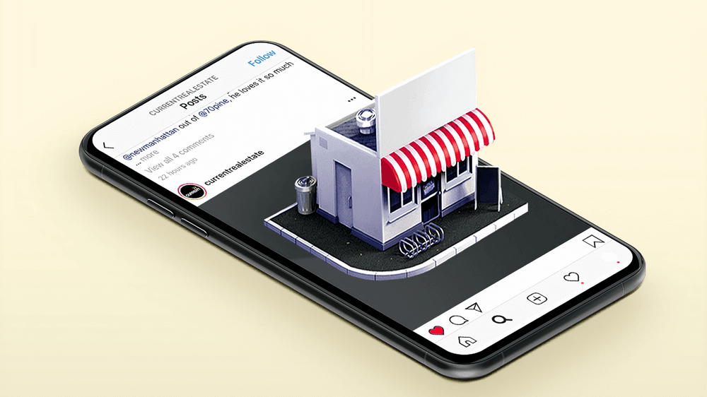 store coming out of smartphone ecommerce mobile guide