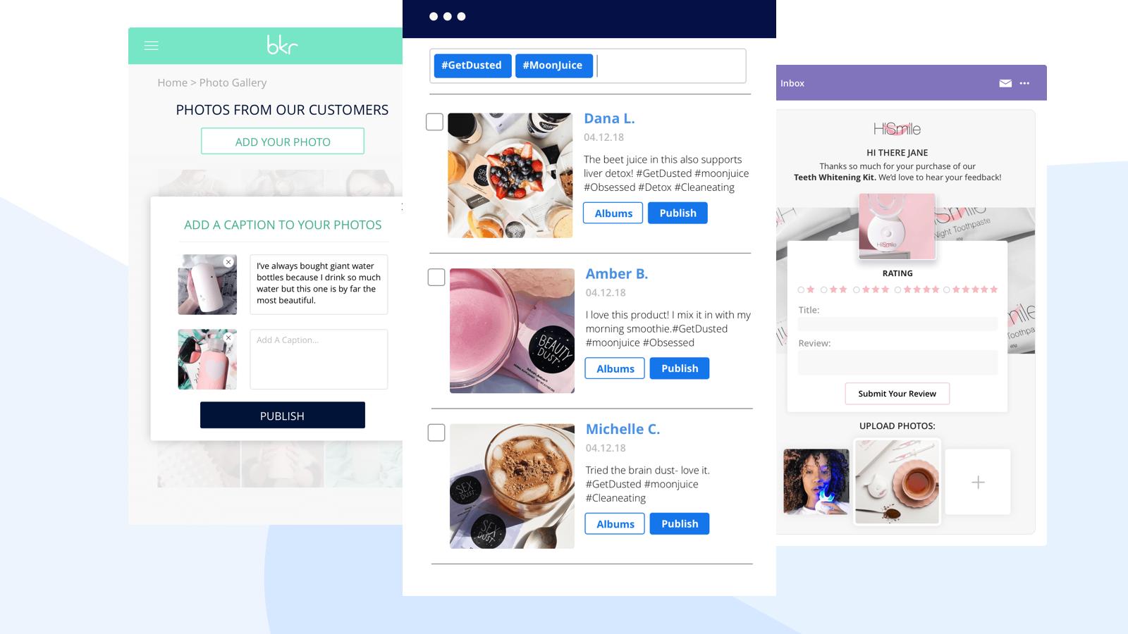customer reviews visual yotpo widget ecommerce marketing strategy
