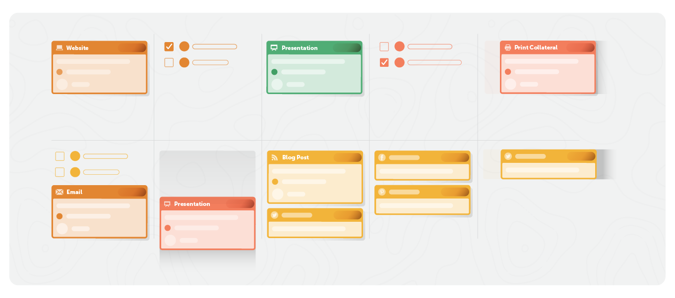 marketing example template from coschedule
