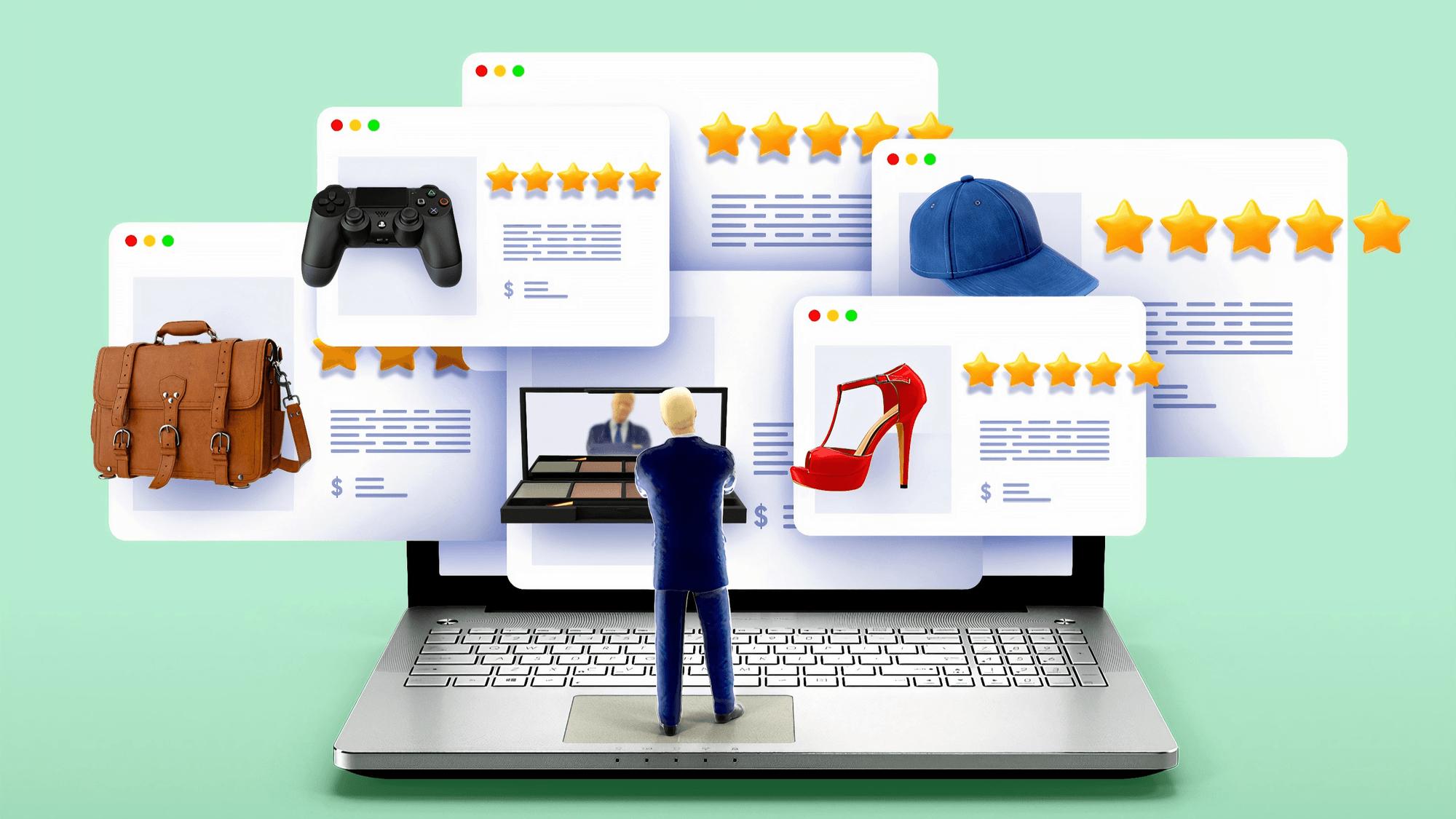 ecommerce online reviews marketplace marketing