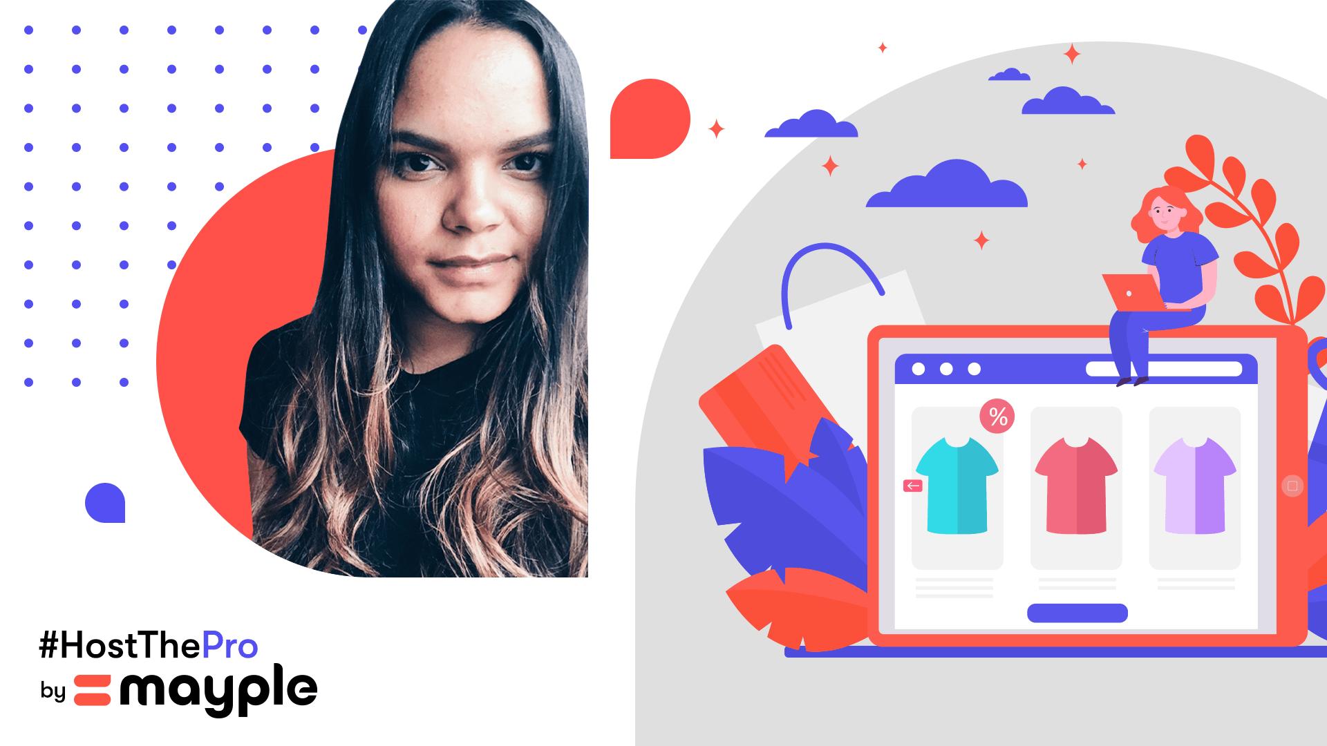 dhariana lozano social media for ecommerce interview