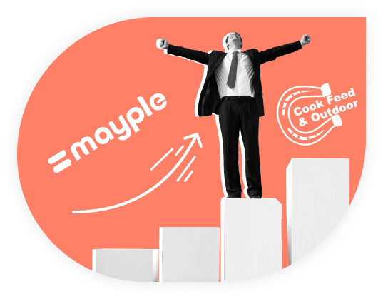 mayple doubled our sales case study