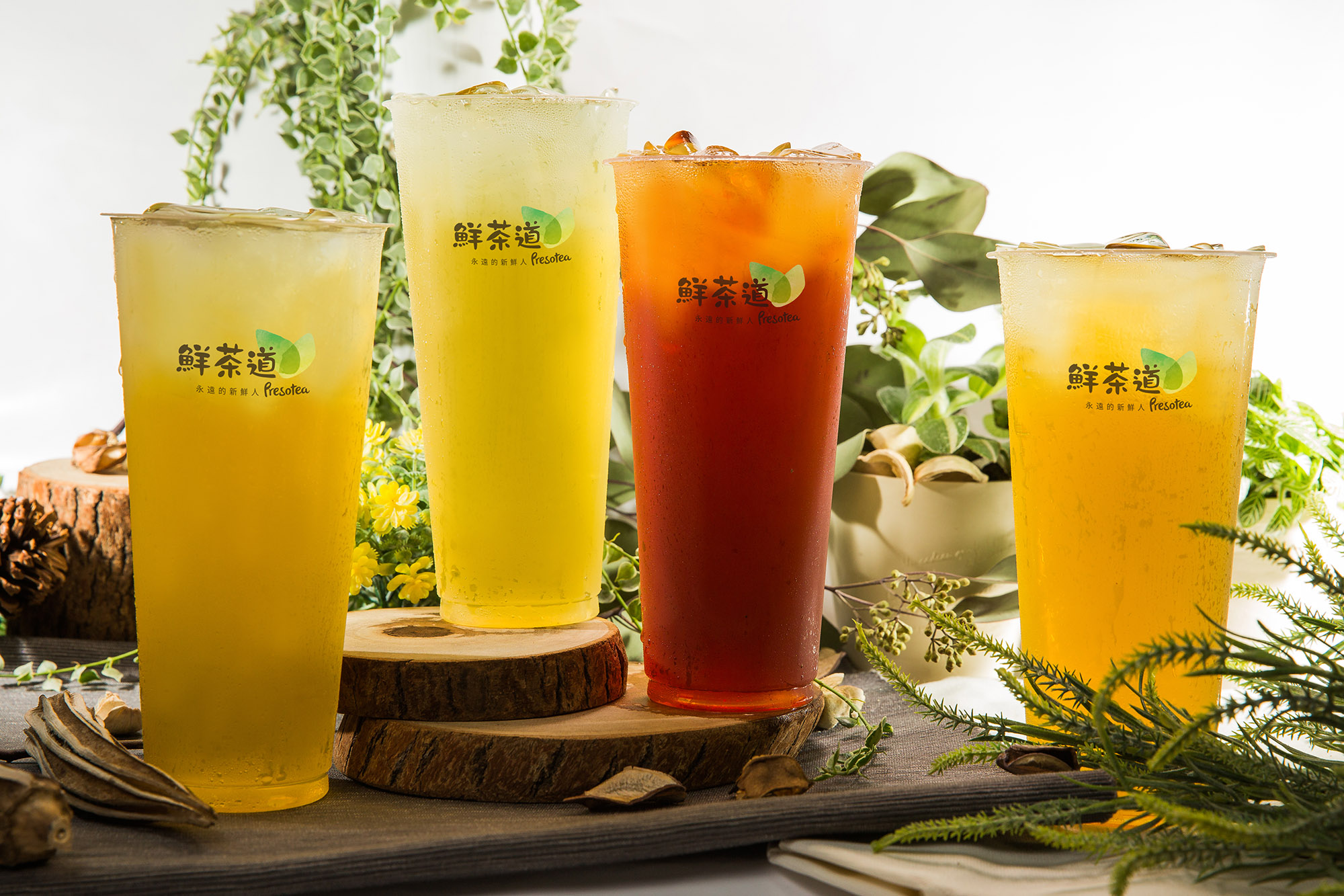 Presotea bubble tea franchise
