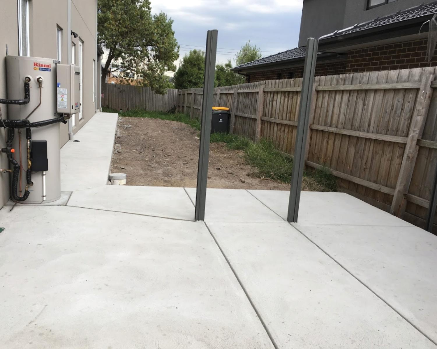brushed-concrete-utility-area