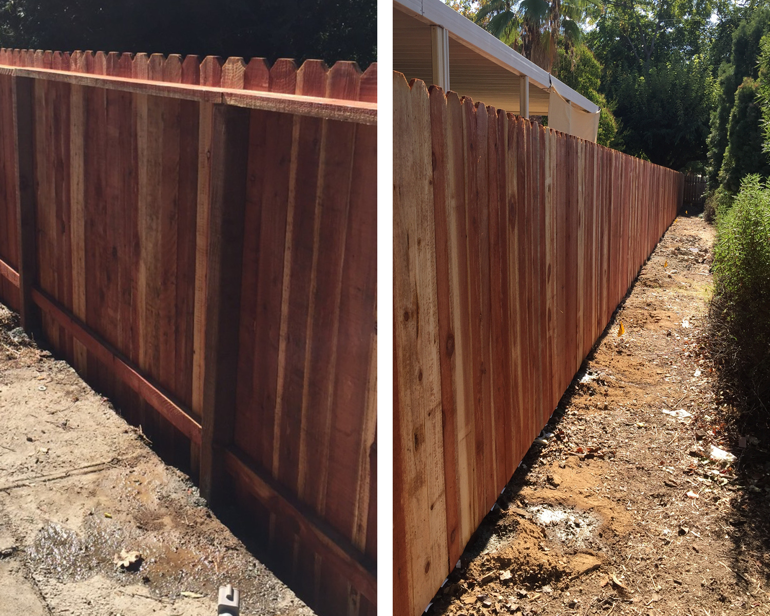 orangevale-ca-nail-up-side-by-side-dog-ear-with-2-rails-backside