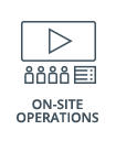 on-site operations