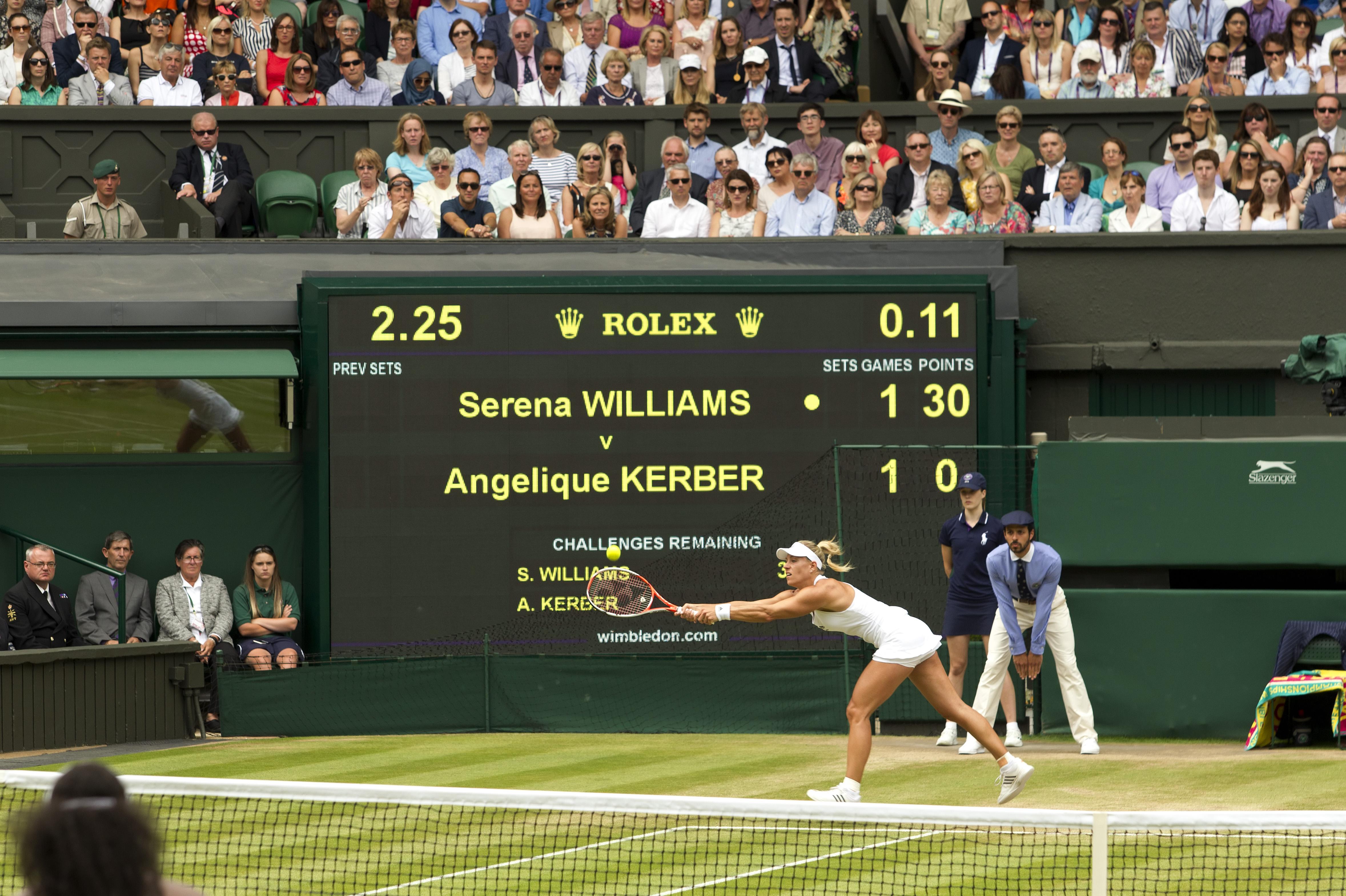 Tennis Scoreboard LED
