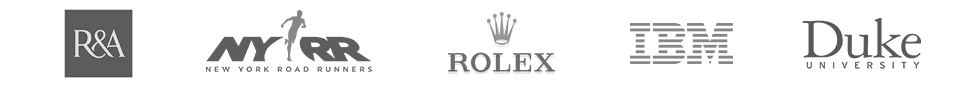 R&A, NYRR, Rolex, IBM, Duke University