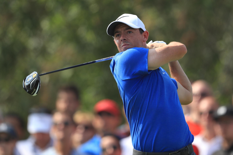 Rory McIlroy golf swing