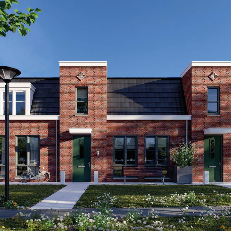 Lichte, gelijkvloerse woning met ruimte op de begane grond voor woonkamer, slaapkamer en badkamer.