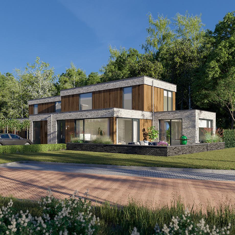 Een heerlijk ruime bosvilla voorzien van alle gemakken, privacy en een ruim aanbod aan indelingsmogelijkheden.
