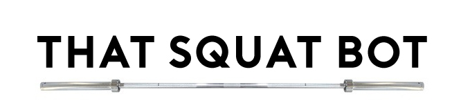 That Squat Bot logo