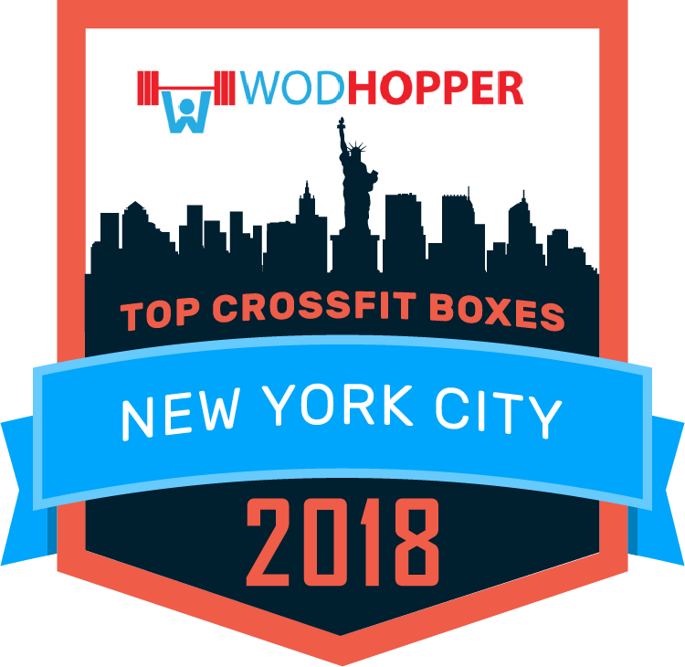 Top CrossFit Boxes in New York City Badge