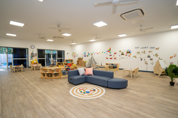 Interior of Sanctuary Early Learning Bentley Park