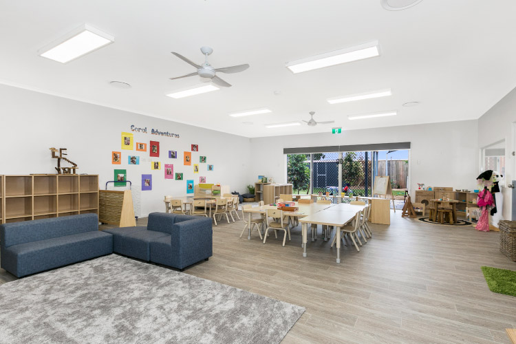 Interior of Sanctuary Early Learning Centre Buderim