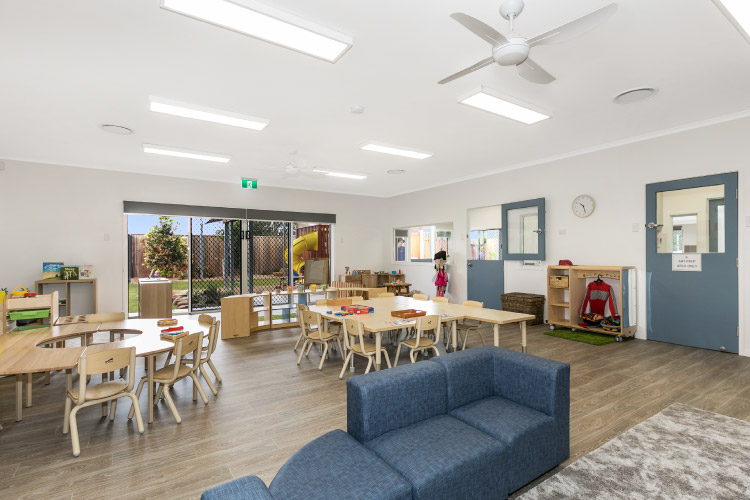 Interior of Sanctuary Early Learning Buderim