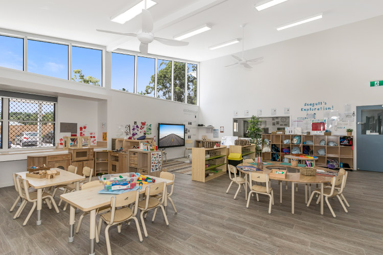 View of the Buderim Centre Classroom