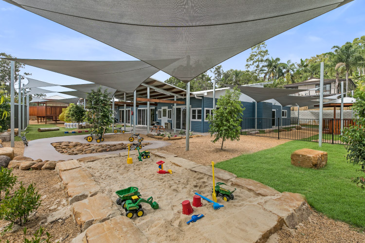 Buderim Centre Outdoors Game and Sandbox