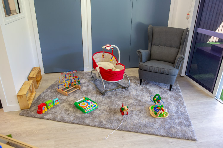 Nap and play area for babies