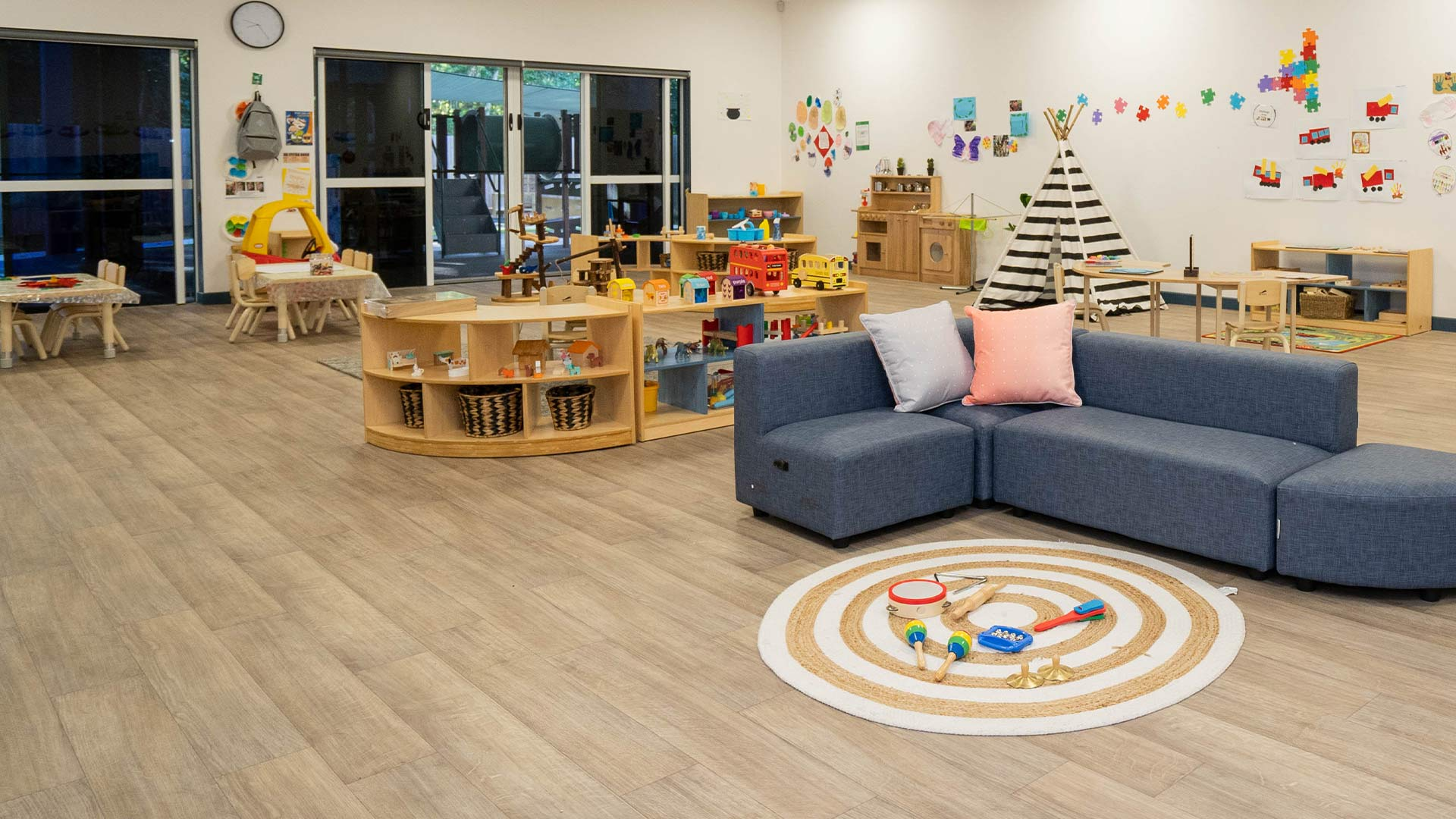 Sanctuary Early Learning Bentley Park main classroom
