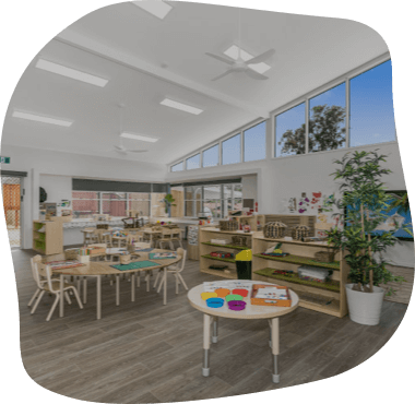 Sanctuary Buderim, the Pre-School Room on a diferent angle