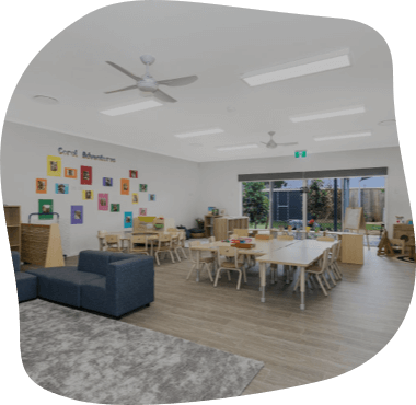 Sanctuary Buderim, the Senior Kindy Room viewed from a different angle