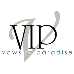 Vows in Paradise Slider Logo