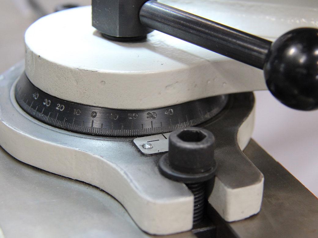 Angular Scale 3 Regrinding Machine
