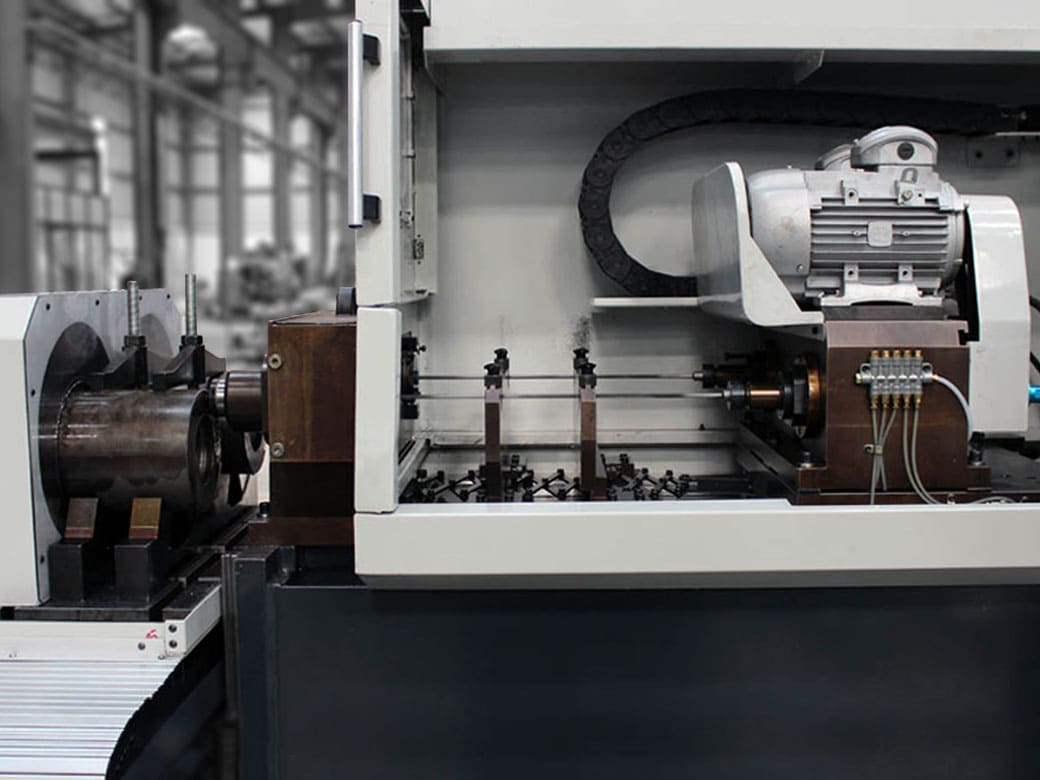 Component Fixturing Three Axis Gun Drilling Machine