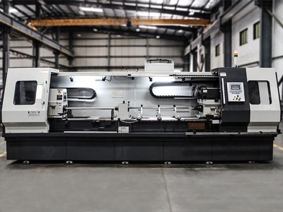 Front View Gun Drilling Machine GVN40