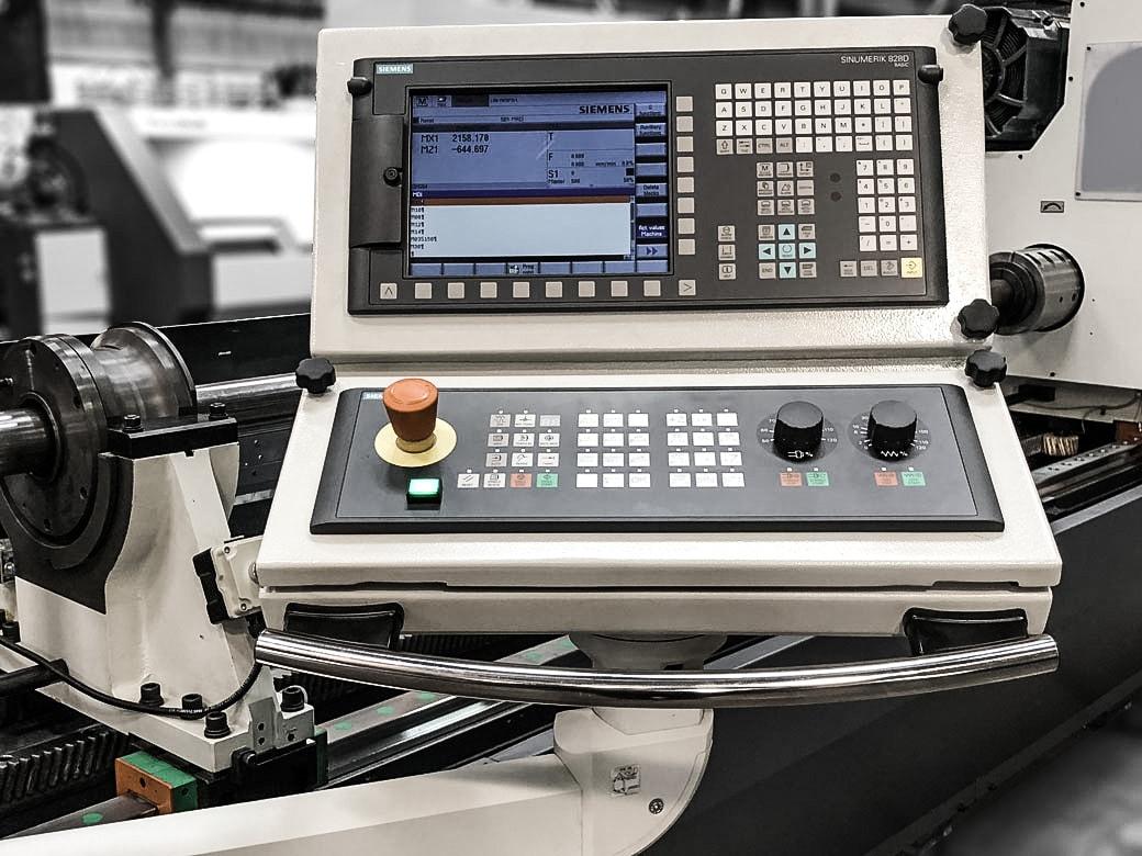 CNC Control Panel BTA Drilling Machine