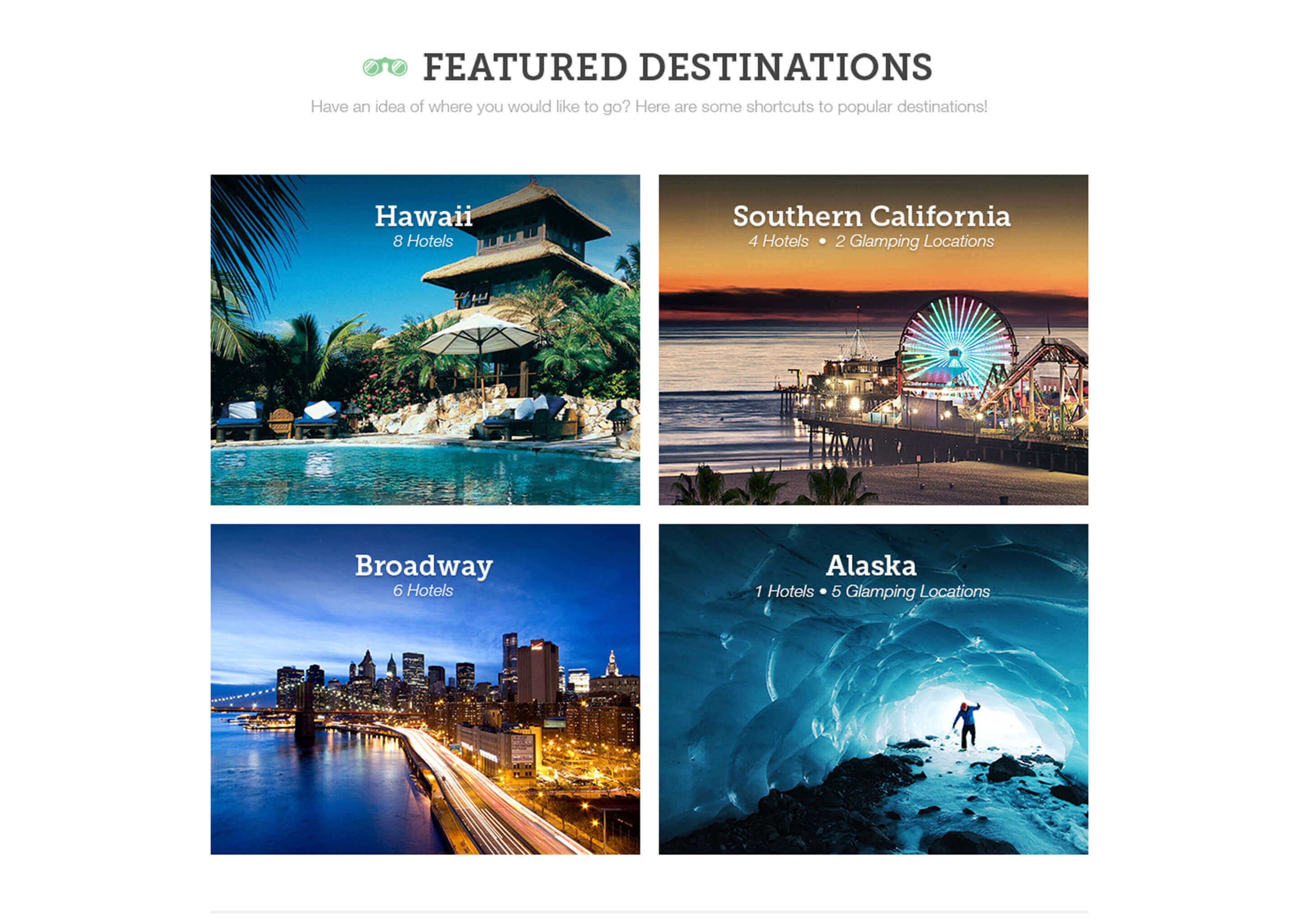 Kind Traveler Destinations