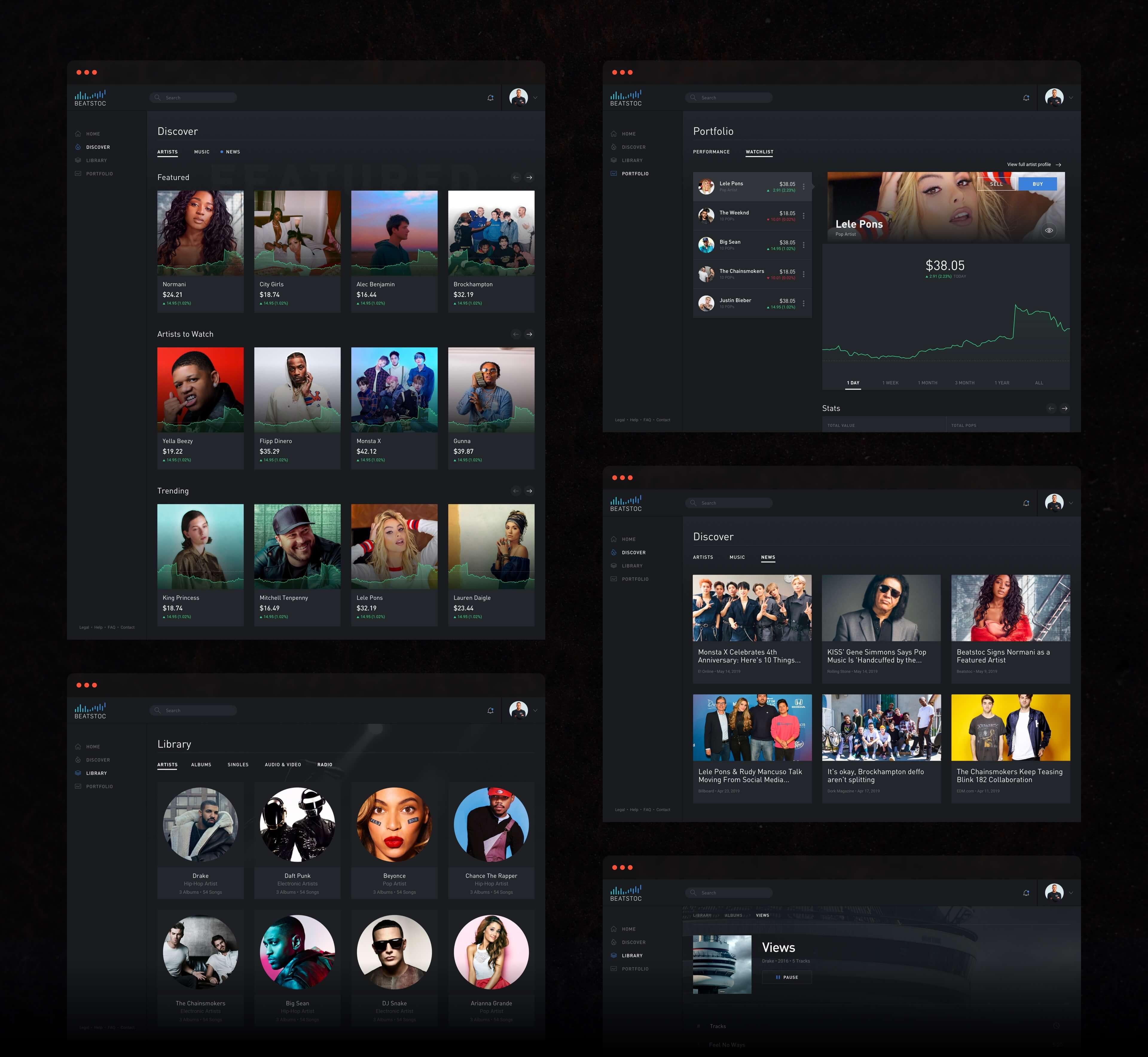 Beatstoc Web Designs