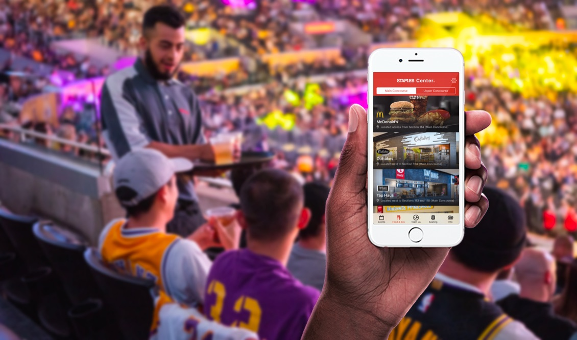 Staples Center App