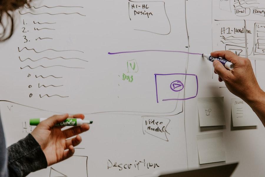web development wireframing