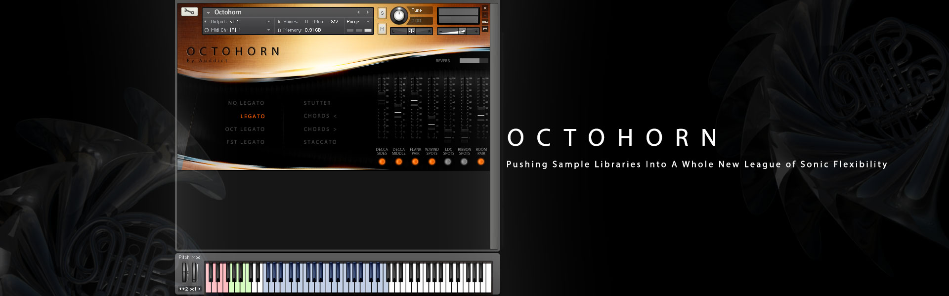 OCTOHORN - The Ultimate Sonically Mouldable French Horn